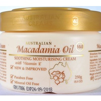 MACADAMIA OIL CREAM - 250GM JAR