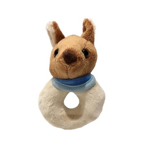 CUTE KANGAROO BABY RATTLE