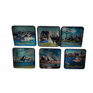 PREMIUM COASTER SET - SYDNEY ICONS