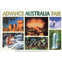ADVANCE AUSTRALIA FAIR PICTORIAL SOUVENIR BOOK