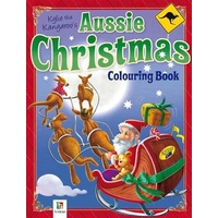 KYLIE THE KANGAROO'S AUSSIE CHRISTMAS COLOURING BOOK
