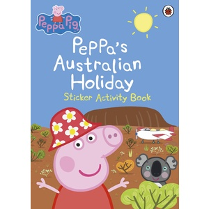 PEPPA'S AUSTRALIAN HOLIDAY STICKER ACTIVITY BOOK