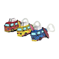 KOMBI VAN AUSTRALIA DESIGN BOTTLE OPENER - WITH FRIDGE MAGNET
