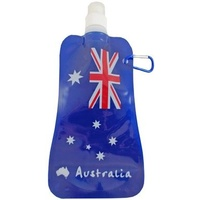 AUSTRALIAN FLAG DESIGN FOLDABLE WATER BOTTLE