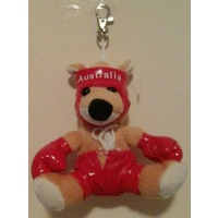 'BOXER' BOXING KANGAROO KEY CHAIN