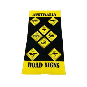 BEACH TOWEL - ROADSIGNS