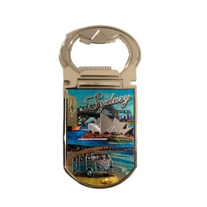 MAGNET BOTTLE OPENER - SYDNEY HARBOUR WITH KOMBI VAN