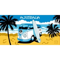 KOMBI AUSTRALIA DESIGN BEACH TOWEL