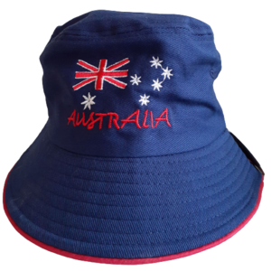 AUSTRALIAN FLAG DESIGN BUCKET HAT