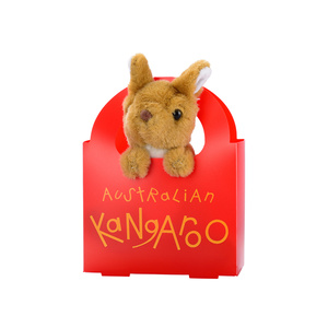 BUSH MATES PLUSH KANGAROO WITH HANDBAG