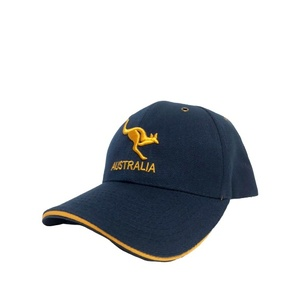 NAVY CAP WITH GOLDEN KANGAROO