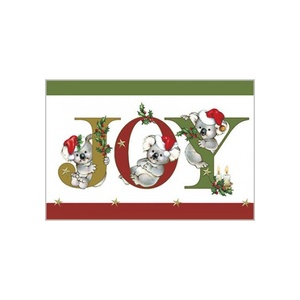 JOY CHRISTMAS KOALAS CARD