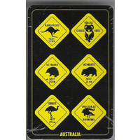ROADSIGN DESIGN PLAYING CARDS PACK