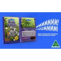 Koala Chews Milk Chocolate Spearmint Leaves And Eucalyptus Chews
