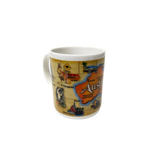 COFFEE MUG - MAP OF AUSTRALIA