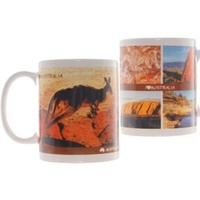 'I LOVE AUSTRALIA' DESIGN COFFEE MUG