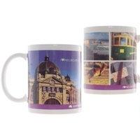 'I LOVE MELBOURNE' DESIGN COFFEE MUG