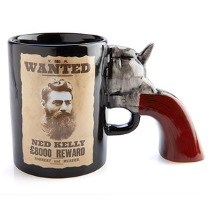 NED KELLY 3D HANDLE MUG