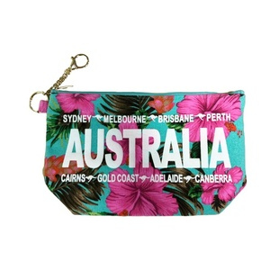 3 IN 1 BLUE FLORAL COSMETIC BAG
