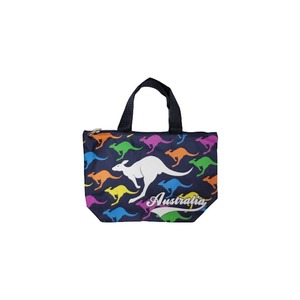 SMALL SHOPPING BAG - COLOURFUL MULTI KANGAROOS