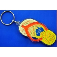 AUSSIE SLANG THONG SHAPED KEY CHAIN