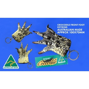 CROCODILE FOOT KEY CHAIN