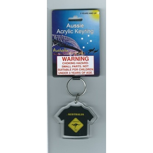ROADSIGN T-SHIRT KEY CHAIN
