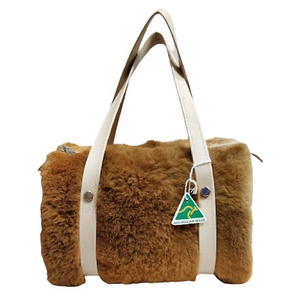 KANGAROO FUR HANDBAG NO.8