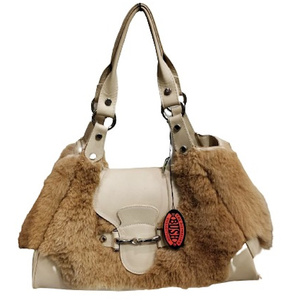 KANGAROO FUR HANDBAG NO.3