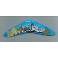 PERTH BOOMERANG FRIDGE MAGNET