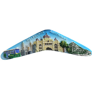 MELBOURNE BOOMERANG FRIDGE MAGNET