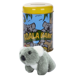 MONEY BOX KOALA BANK + SOFT TOY
