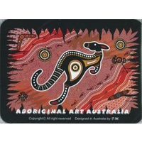 ABORIGINAL ART DESIGN MOUSE PAD