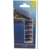 AUSTRALIAN FLAG DESIGN NAIL ART STICKERS