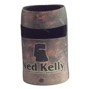 NED KELLY STUBBY DRINK HOLDER - CAN COOLER