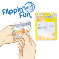 FLIPPIN' FUN KANGAROO & JUMPING JOEY ANIMATED NOTEPAD