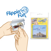FLIPPIN' FUN MELBOURNE TRAM ANIMATED NOTEPAD