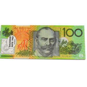 AUSTRALIAN MONEY NOTEPAD