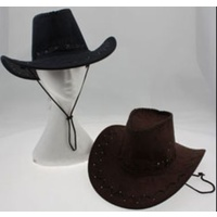 OUTBACK STYLE HAT - MOCK SUEDE
