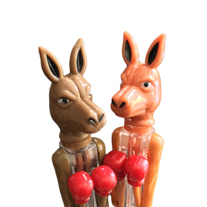 2 BOXING KANGAROO SOUVENIR PENS - WITH MOVING ARMS!