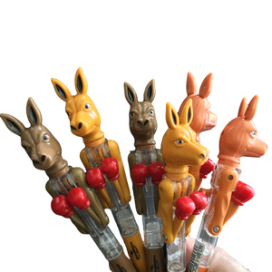 6 BOXING KANGAROO SOUVENIR PENS - WITH MOVING ARMS!