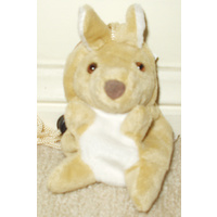 SOFT PLUSH KANGAROO MOBILE PHONE HOLDER