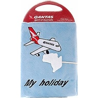 QANTAS PLUSH COVERED PHOTO ALBUM