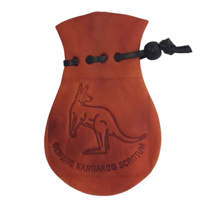 AUSSIE KANGAROO SCROTUM COIN POUCH - SMALL SIZE