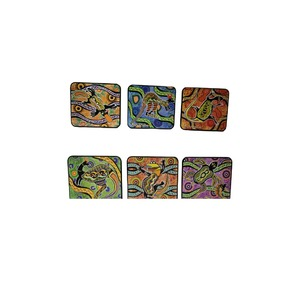 COASTER SET - ABORIGINAL ART NO.2
