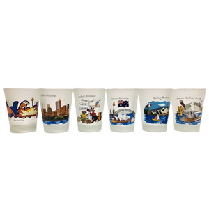 SHOT GLASSES - PACK OF 6 COLOURFUL SYDNEY