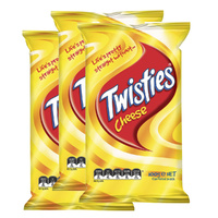 3 Pk Twisties Cheese 100g