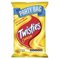 Twisties Cheese Party Bag 270g