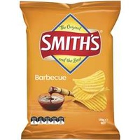 Smith's Share Pack Crinkle Cut Bbq 170g