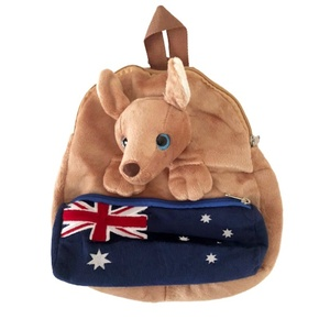 LARGE KANGAROO BACKPACK WITH PENCIL CASE